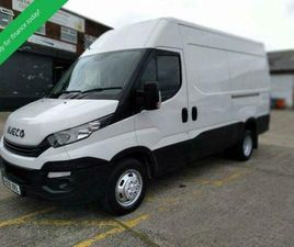 2018 18 IVECO DAILY 35C18 - 3.0 - 180 BHP EURO 6 - MWB HIGH ROOF PREMIUM WITH CL