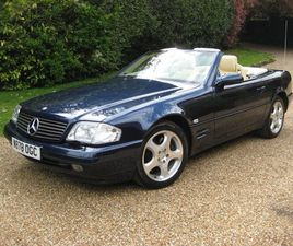 MERCEDES BENZ SL320 V6 1 OWNER FOR 20 YEARS WITH ONLY 28,000 MILES FROM NEW 2000
