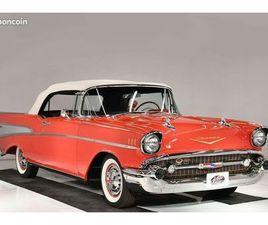 CHEVROLET BEL AIR 150/210 CABRIOLET 1957 - V8 283CI - BOITE AUTO