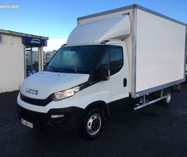 IVECO DAILY 35-160 / CAISSE 20M3 + HAYON / 2019/ 53 938 KMS