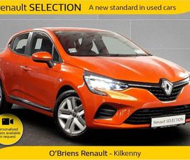 RENAULT CLIO DYNAMIQUE 1.0 TCE 100 BHP 5DR IN ST FOR SALE IN KILKENNY FOR €21,845 ON DONED
