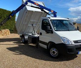 IVECO GRUE BENNE