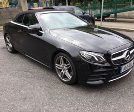 MERCEDES-BENZ E-CLASS E220D CABRIOLET AMG LINE FOR SALE IN DUBLIN FOR €56,950 ON DONEDEAL
