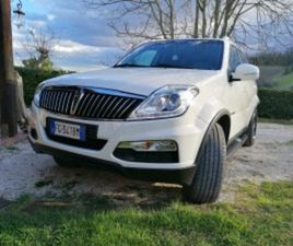 SSANGYONG 2.2 DIESEL 4WD A/T TOP PELLE TABACCO SMART AUDIO - AUTO USATE - QUATTRORUOTE.IT