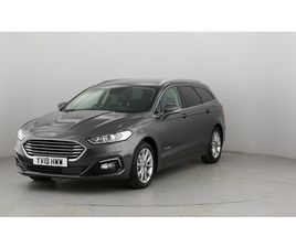 USED 2019 FORD MONDEO MONDEO ESTATE 30,880 MILES IN GREY FOR SALE   CARSITE