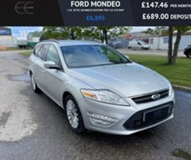 USED 2013 FORD MONDEO 2.0L ZETEC BUSINESS EDITION TDCI 5D 138 BHP ESTATE 74,526 MILES IN S