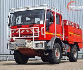 IVECO EUROCARGO TECTOR 140 E24 4X4 4.000 LTR. ROSENBAUER, FEUERWEHR - FIRE BRIGADE - BRAND
