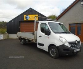 USED 2015 RENAULT CLIO MASTER DROPSIDE NOT SPECIFIED 77,495 MILES IN WHITE FOR SALE | CARS