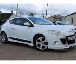 USED 2010 RENAULT MEGANE DYNAMIQUE TTOM DCI COUPE 91,000 MILES IN WHITE FOR SALE   CARSITE