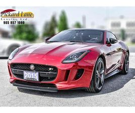 USED 2015 JAGUAR F-TYPE R SPORT| LOADED WITH CARBON||RED ON RED!!