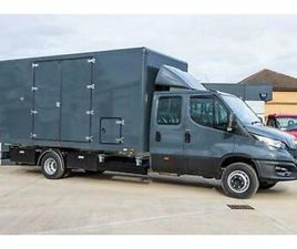 IVECO DAILY 3.0180BHP 7.0T CREW CAB MANUAL TILT AND SLIDE COVERED