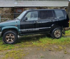 3.1 ISUZU JEEP FOR SALE IN SLIGO FOR €1,000 ON DONEDEAL