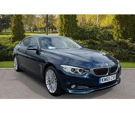 BMW 4 SERIES 420I GRAN COUPE LUXURY 5DR [PROFESSIONAL MEDIA] 2.0 AUTOMATIC AT JAGUAR HATFI