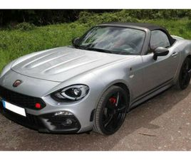 ABARTH 124 SPIDER GT 1,4 MULTIAIR TURBO TURISMO 1A ZUST
