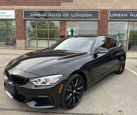 2015 BMW 4 SERIES 435I XDRIVE GRAN COUPE, M PACKAGE, LIKE NEW, BMW SERVICE RECORDS, $246 B