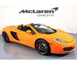 2014 MCLAREN 12C SPIDER
