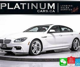 2015 BMW 650I XDRIVE GRAN COUPE, M-SPORT EDITION, NAV, CAM   CARS & TRUCKS   CITY OF TORON