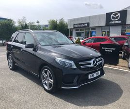 MERCEDES-BENZ GLE 350D 4MATIC AMG LINE 5DR 9G-TRONIC 3.0