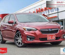 2018 SUBARU IMPREZA 5DR SPORT CVT W/ EYESIGHT   CARS & TRUCKS   CITY OF TORONTO   KIJIJI
