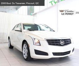 2014 CADILLAC ATS AWD,TOIT OUVRANT,CAMÉRA DE RECUL,CUE ONLY 1 OWNER