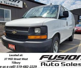 USED 2016 CHEVROLET EXPRESS 2500 RWD 135 CARGO