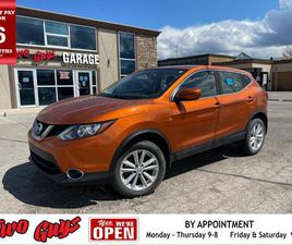 USED 2017 NISSAN QASHQAI AWD SUNROOF PARKING ASSIST REAR HEATED FRONT SEATS
