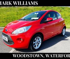 FORD KA, 2013 STUDIO, 1.2 €43 P/W OVER 3 YEARS FOR SALE IN WATERFORD FOR €5,500 ON DONEDEA