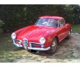 ALFA ROMEO GIULIETTA SPIDER - 1960