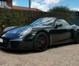 PORSCHE 991 911 3.8 CARRERA GTS CABRIOLET