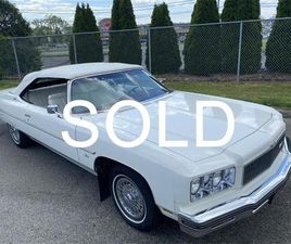 FOR SALE: 1975 CHEVROLET CAPRICE IN MILFORD CITY, CONNECTICUT