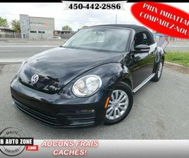 2017 VOLKSWAGEN BEETLE CLASSIC/INK EDITION/TRENDLINE | CARS & TRUCKS | LONGUEUIL / SOUTH S