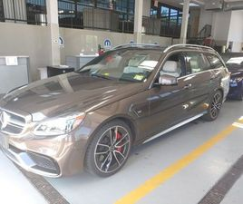 BROWN COLOR 2014 MERCEDES-BENZ E-CLASS AMG E 63 4MATIC FOR SALE IN RAMSEY, NJ 07446. VIN I