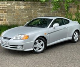USED 2003 HYUNDAI COUPE SE COUPE 28,052 MILES IN SILVER FOR SALE | CARSITE