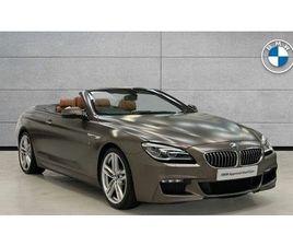 2016 BMW 6 SERIES 3.0TD 640D M SPORT CONVERTIBLE 2D - £31,674