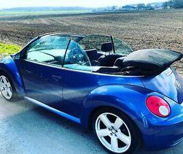 VW BEETLE CONVERTIBLE LUNA LOWERED LOW MILES