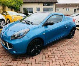 2011 RENAULT WIND 1.2 TCE DYNAMIQUE S 2DR CONVERTIBLE PETROL MANUAL