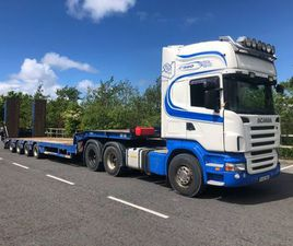 SCANIA R560 & LOW LOADER FOR SALE IN GALWAY FOR €1 ON DONEDEAL