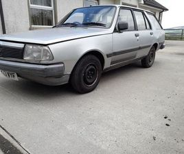 1984 RENAULT 18GTL ESTATE FOR SALE IN TYRONE FOR £1,300 ON DONEDEAL