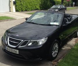 10 SAAB 9-3 TID CABRIOLET NCT OCT 2022 PERFECT FOR SALE IN DUBLIN FOR €7,995 ON DONEDEAL