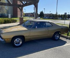 1974 DUSTER GOLD EDITON   CLASSIC CARS   OAKVILLE / HALTON REGION   KIJIJI