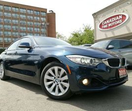 2015 BMW 428I XDRIVE GRAN COUPE CLEAN CARFAX   NAVI   CAM  ROOF   4 NEW SNOW TIRES*     CA