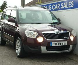 SKODA YETI 1.6 TDI NCT 05/23 NEW CLUTCH&TYRES FOR SALE IN WICKLOW FOR €7,945 ON DONEDEAL