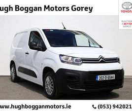 CITROEN BERLINGO LX 1.5 BLUEHDI 75 650KG M 3 FOR SALE IN WEXFORD FOR €13,588 ON DONEDEAL