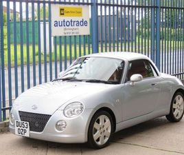 DAIHATSU COPEN 0.7 ROADSTER 2D 67 BHP FULL RED LEATHER HEATED SEATS