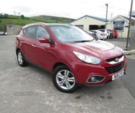 USED 2011 HYUNDAI IX35 PREMIUM 2WD CRDI NOT SPECIFIED 78,329 MILES IN RED FOR SALE | CARSI
