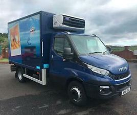 2016 IVECO DAILY 72-170 REFRIGERATED TRUCK