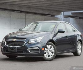 USED 2015 CHEVROLET CRUZE 1LT   LOW KMS!