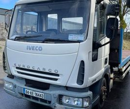IVECO EUROCARGO 80E18 FLATBED FOR SALE IN MAYO FOR €5,500 ON DONEDEAL