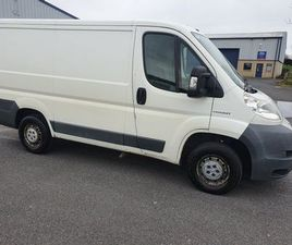 2011 PEUGEOT BOXER TAXED TESTED FOR SALE IN CARLOW FOR €4,950 ON DONEDEAL
