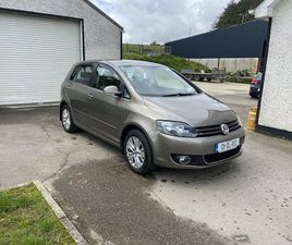 2013 VOLKSWAGEN GOLF PLUS FOR SALE IN DONEGAL FOR €8,000 ON DONEDEAL